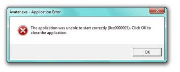 The application was unable to start correctly (0xc0000005)
